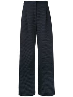 Quilted & Ponte Florence trousers Bianca Spender