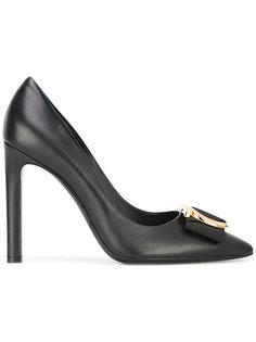 туфли с пряжками Gancio Salvatore Ferragamo