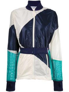 куртка-бомбер с контрастным поясом Adidas By Stella Mccartney