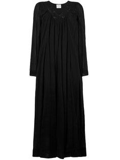 расклешенное платье с V-образным вырезом Forte Forte