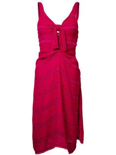 fine-stripe day dress Proenza Schouler