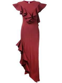 Crepe Raven gown Bianca Spender
