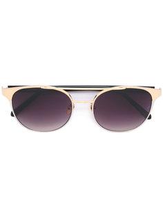солнцезащитные очки с круглой оправой Linda Farrow