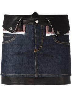 джинсовая мини юбка Dsquared2