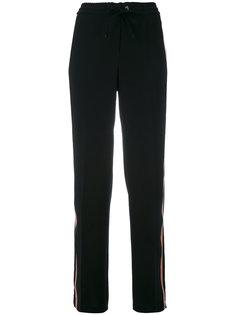спортивные брюки с полосками по бокам Luisa Cerano
