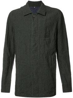 pleated back shirt jacket Ziggy Chen