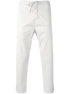 укороченные брюки с эластичным поясом Vince