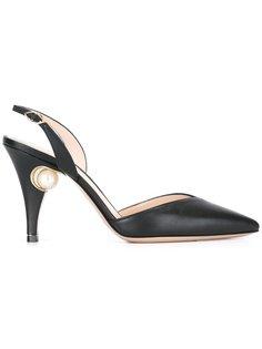 туфли-лодочки Penelope с жемчужным украшением Nicholas Kirkwood