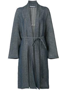 belted robe coat Rosetta Getty
