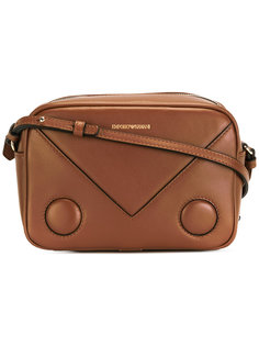 сумка на плечо с принтом-логотипом Emporio Armani