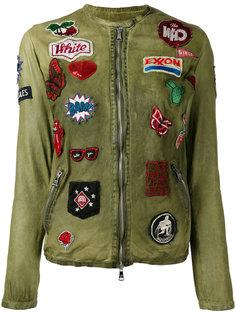 куртка с нашивками Giorgio Brato