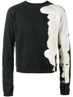 bleached sweatshirt  Haider Ackermann