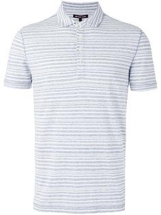 футболка-поло в полоску Michael Kors