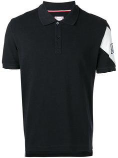 футболка-поло с принтом-логотипом Moncler Gamme Bleu