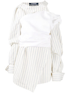 stripe asymmetric dress  Jacquemus