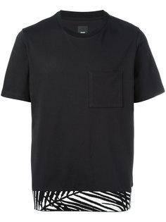 футболка с нагрудным карманом Oamc