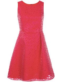 платье с рваной отделкой Emporio Armani