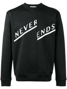 толстовка Never Ends McQ Alexander McQueen
