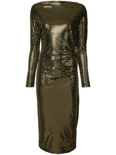 metallic fitted dress Vivienne Westwood Anglomania