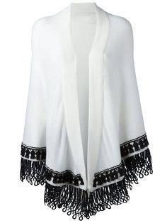 шарф дизайна колор-блок Antonia Zander