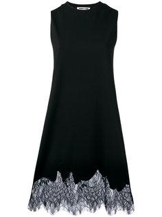 платье с кружевным подолом McQ Alexander McQueen