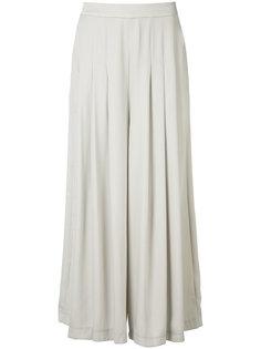 draped palazzo pants Just Female