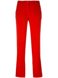 брюки кроя слим Emporio Armani