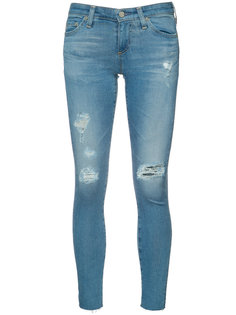 ripped super skinny jeans Ag Jeans