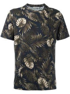 футболка с растительным принтом Vince