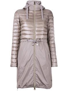 удлиненная стеганая куртка  Herno