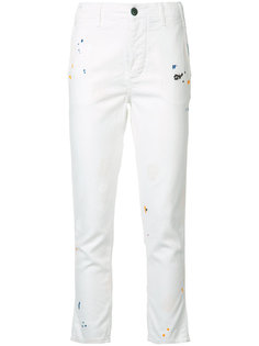 boyfriend skinny cropped jeans The Great