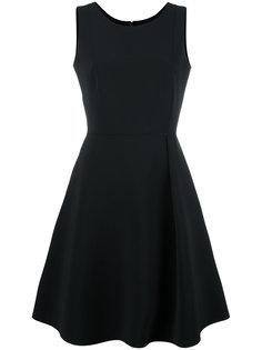 расклешенное платье  Emporio Armani