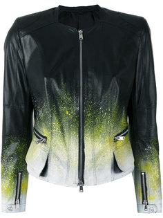 куртка с брызгами краски Sylvie Schimmel