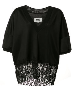 lace hem blouse Mm6 Maison Margiela