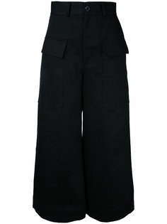 wide leg cropped pants Studio Nicholson