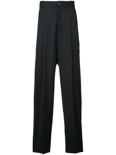 pleated detail trousers Icosae