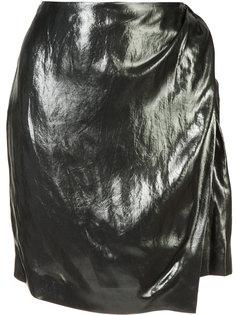 wrap front skirt Iro