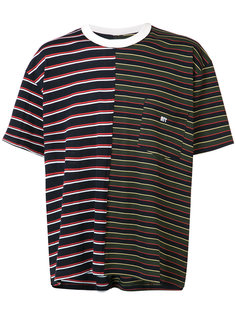 chest pocket striped T-shirt Mr. Completely