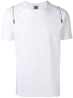 zipped shoulders T-shirt Les Hommes