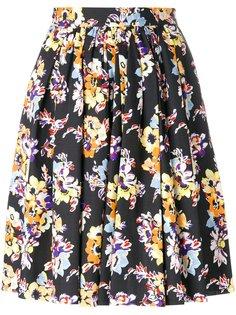 юбка с цветочным узором MSGM