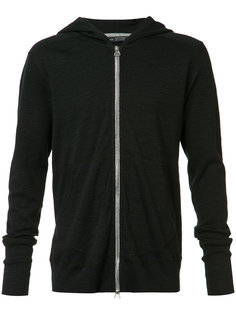 zipped hoody Wings+Horns