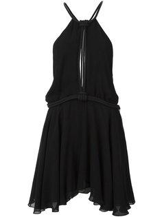 платье мини с декоративной веревкой Jay Ahr