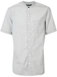 mandarin neck shortsleeved shirt Wings+Horns
