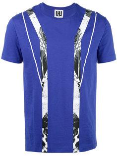 geometric print T-shirt Les Hommes Urban