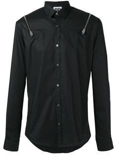 zipper detail shirt Les Hommes Urban
