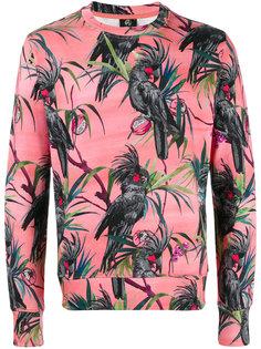 толстовка с попугаями Paul Smith Jeans