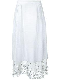 декорированная многослойная юбка  Mother Of Pearl