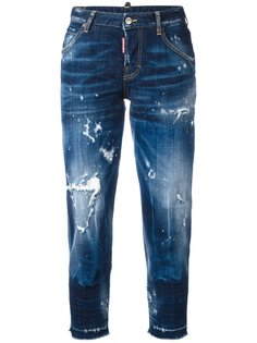укороченные джинсы Hockney Dsquared2