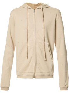 embroidered detail hoodie  Stampd