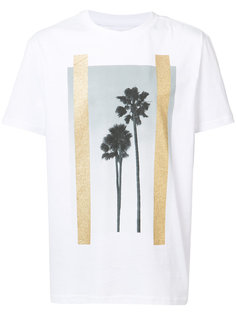 palm tree print T-shirt  Palm Angels